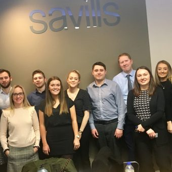 Savills employees corporate fundraising