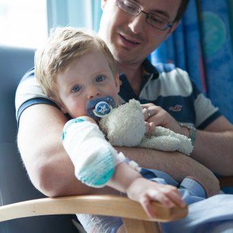 MFT Charity patient and parent