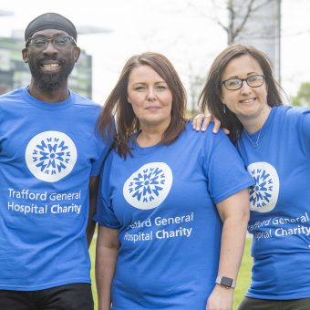 Trafford Hospital charity fundraising group