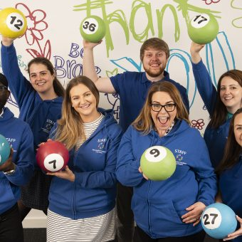 MFT Charity Team Lotto Balls
